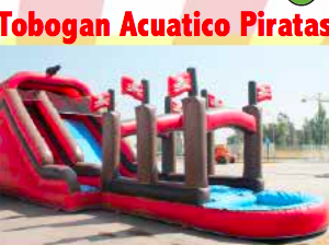 tobogan pirata de agua